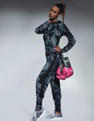 BAS BLACK krāsaini sieviešu bikses 200 DEN