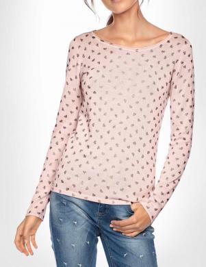 Rozā sieviešu džemperis LINEA TESINI