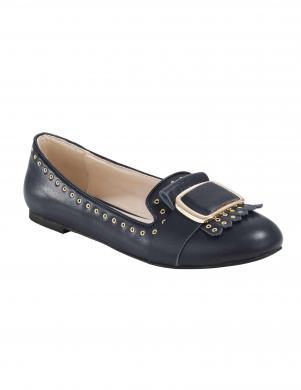 Zili sieviešu dabīgas ādas apavi ar sprādzi HEINE