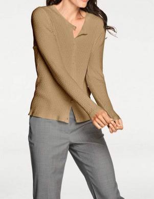 Brūns sieviešu džemperis PATRIZIA DINI