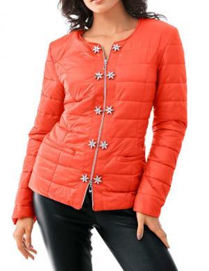 PATRIZIA DINI oranžas krāsas stilīga sieviešu jaka