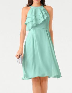 Zaļa stilīga kleita ASHLEY BROOKE