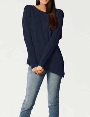 Zils asimetrisks džemperis no kašmira PATRIZIA DINI
