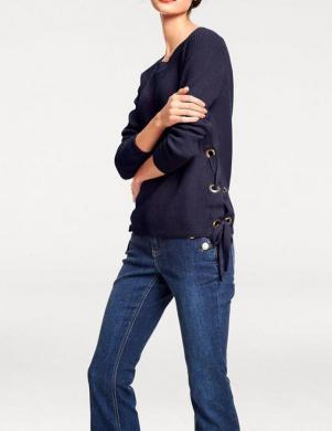 Zils sieviešu džemperis RICK CARDONA