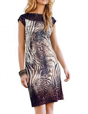RICK CARDONA stilīga krāsaina sieviešu kleita