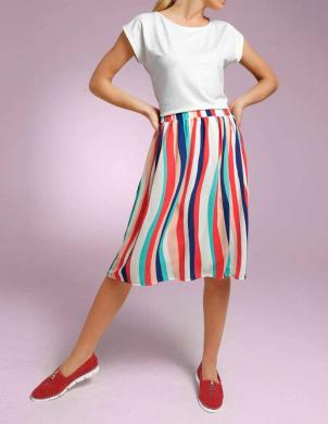 Krāsaini sieviešu svārki ar lencēm RICK CARDONA