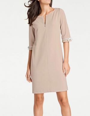 Smilšu krāsas kleita HEINE