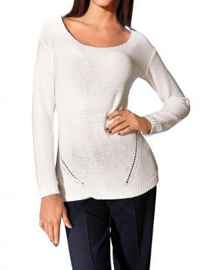 S. MADAN balts sieviešu džemperis