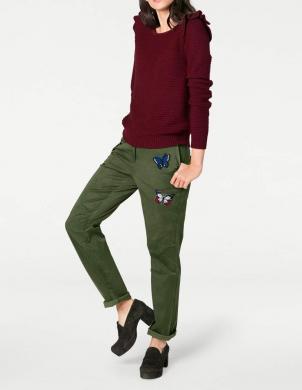 zaļas sieviešu bikses RICK CARDONA