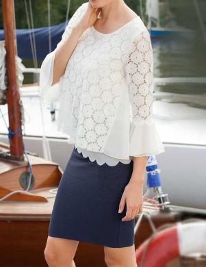 APART stilīga sieviešu baltas krāsas blūze
