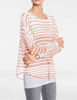 Krēmīgs sieviešu džemperis RICK CARDONA