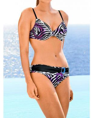 HEINE sieviešu krāsains divu daļu peldkostīms
