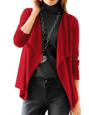 HEINE - BEST CONNECTIONS sarkanas krāsas skaisti sieviešu kardigans no kašmira