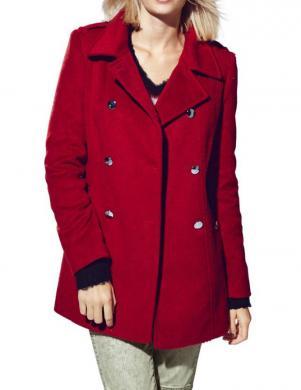 MANDARIN sarkanas krāsas stilīgs sieviešu mētelis