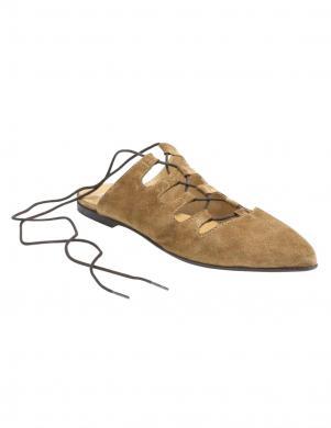 Sieviešu brūni zamšādas apavi HEINE