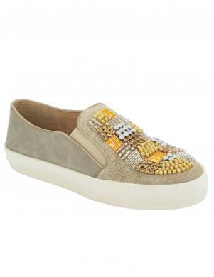 Smilšu krāsas sieviešu brīva laika apavi XYXYX