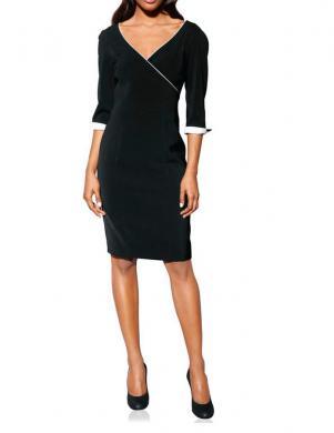 Melna klasiska sieviešu kleita S. MADAN