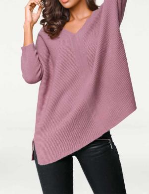 PATRIZIA DINI sieviešu rozā krāsas džemperis no kašmira
