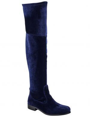 Samta tumši zili sieviešu zābaki HEINE