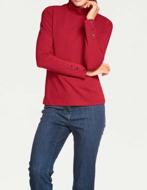 Sarkans sieviešu džemperis PATRIZIA DINI