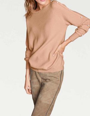 Smilšu sieviešu džemperis RICK CARDONA