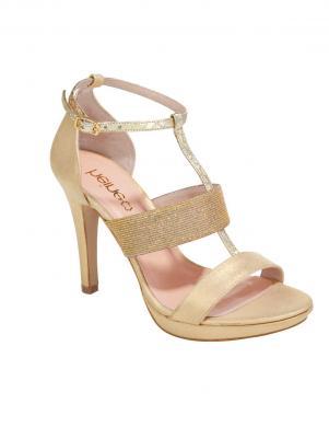 Smilšu krāsas sieviešu augstpapēžu apavi HEINE