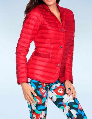 ASHLEY BROOKE sarkana dūnu sieviešu jaka