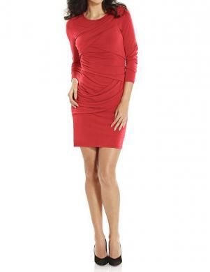 ASHLEY BROOKE koraļļu krāsas sieviešu kleita