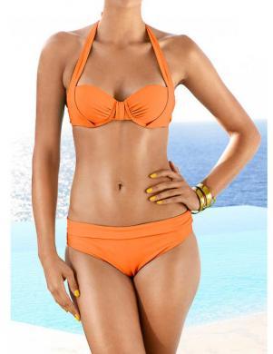 HEINE oranžas krāsas divu daļu sieviešu peldkostīms