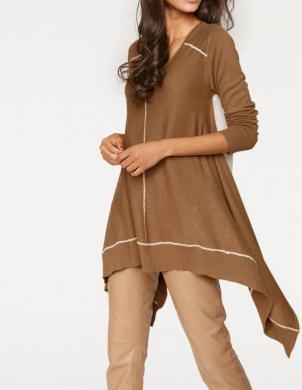 PATRIZIA DINI brūnas krāsas stilīgs sieviešu džemperis