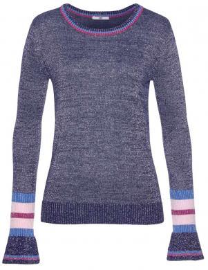 Tumši zils sieviešu džemperis AJC