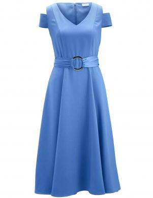 Gaiši zila kleita ar jostu HEINE