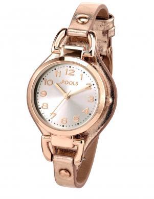 Zelta krāsas sieviešu pulkstenis POOLS