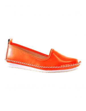 Sieviešu oranži apavi mokasīni ANDREA CONTI