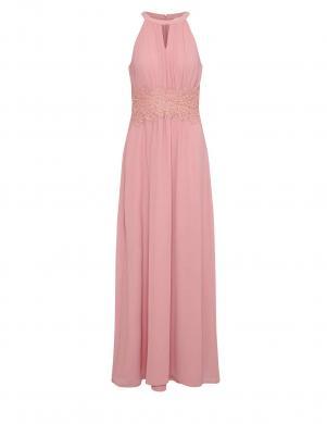 Rozā gara kleita VILA CLOTHES
