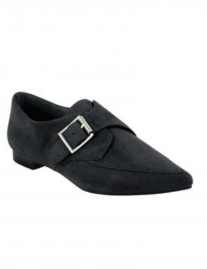 Melni zamšādas apavi HEINE