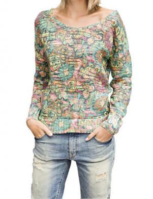 MANDARIN krāsains stilīgs sieviešu džemperis