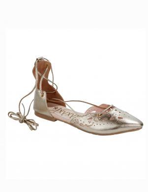 Spīdīgi sieviešu ādas apavi XYXYX
