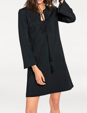 RICK CARDONA skaista melnas krāsas sieviešu kleita