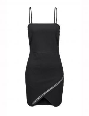 MELROSE skaista melnas krāsas sieviešu kleita