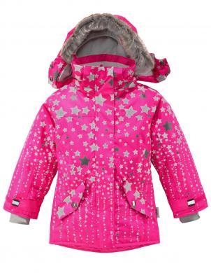 Rozā  bērnu jaka XS-EXES