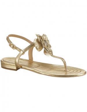 Zelta krāsas sieviešu ādas sandales GUIDO MARIA KRETSCHMER