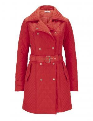 Eleganta sarkana stepēta jaka HEINE