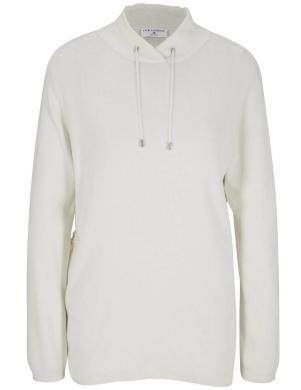 Balts džemperis ar augstu apkakli Rick Cardona