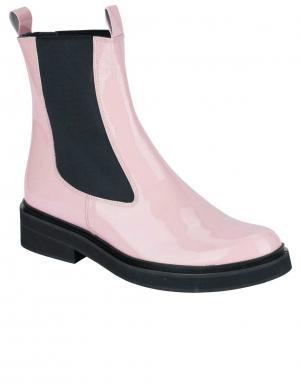 Sieviešu rozā ādas zābaki HEINE