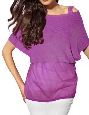 Sieviešu blūze violeta krāsā ALBA MODA
