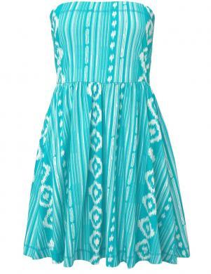 Tirkīza krāsas vasaras kleita BENCH
