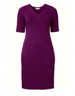 SHEEGO violetas krāsas skaista sieviešu kleita