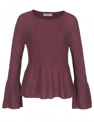 Tumši sarkans džemperis ar vilnu STEFANEL