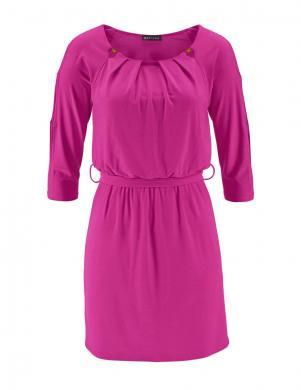 MELROSE spilgti rozā krāsas skaista sieviešu kleita